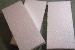 Пенопласт, порезанный на прямоугольники