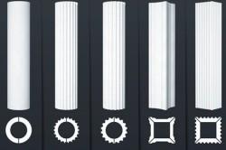 Виды колонн из пенопласта