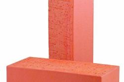 Кирпич керамический красный полнотелый