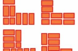 Схема правильной кладки углов