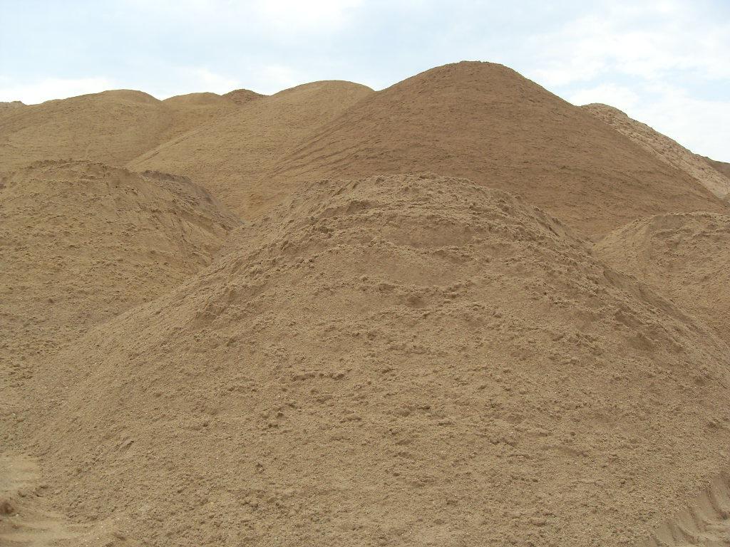 Cтроительный песок