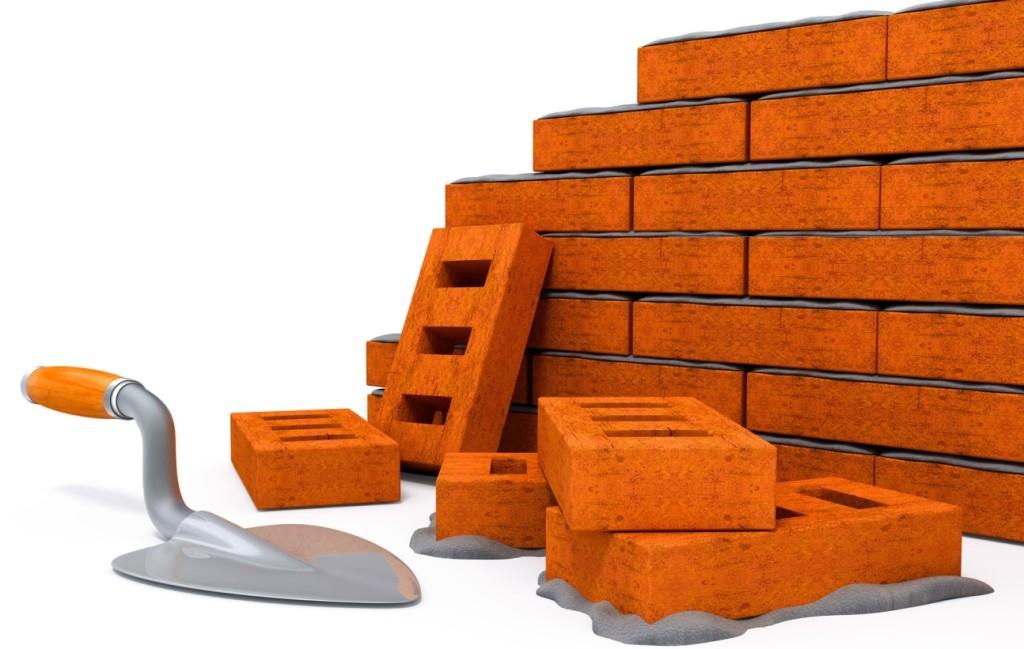 Постройка кирпчиной стены
