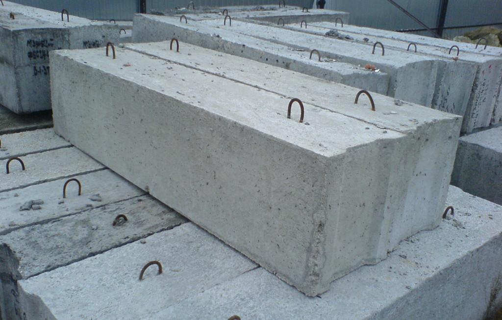 Фундаментные блоки сплошные