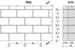 Схема перевязки керамзитобетонных блоков