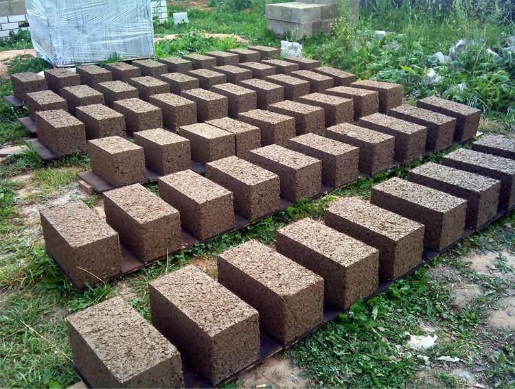 Блоки опилкобетонные