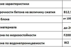 Общие технические характеристики блоков ФСБ
