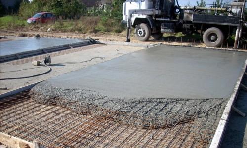 Расчет необходимого бетона