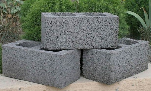 Блоки керамзитобетона