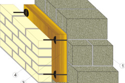 Схема утепления керамзитобетонных стен