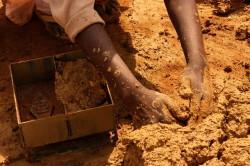 Изготовление кирпича из глины