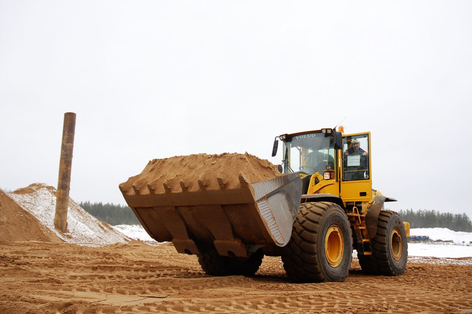 Строительный песок Казань