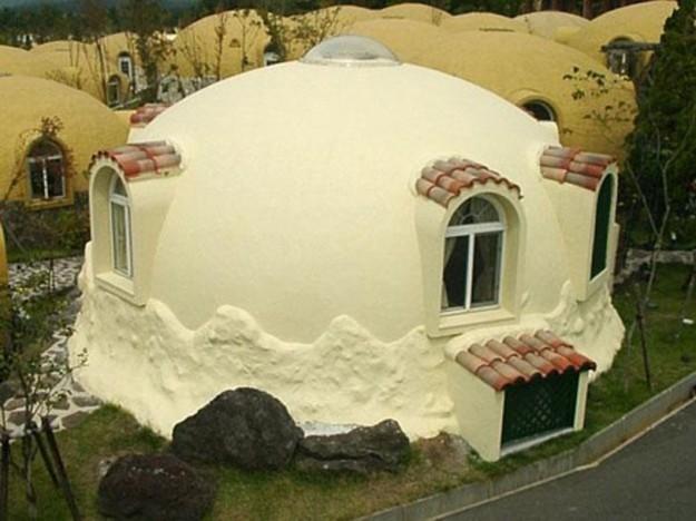 Дом из пенопласта самостоятельно
