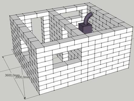 Основание цокольного этажа