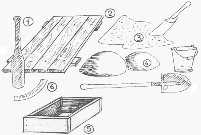 Как изготовить формы для плиток своими руками