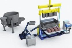 Оборудование для изготовления керамзитных блоков