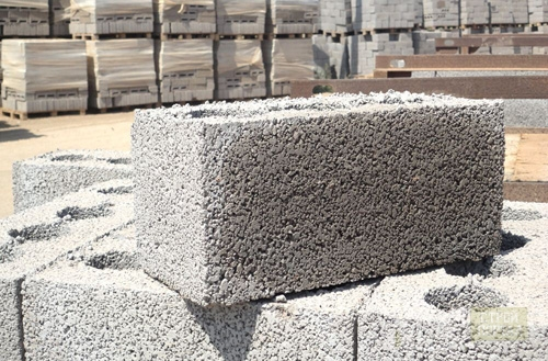 Керамзитные блоки на просушке