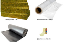 Материалы для утепления крыши