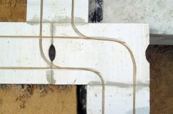 Пример армирования пеноблоков у дверных и оконных проемов