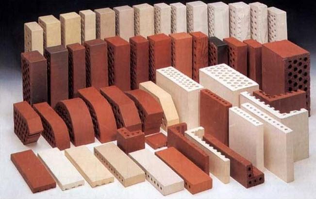 Виды строительного кирпича