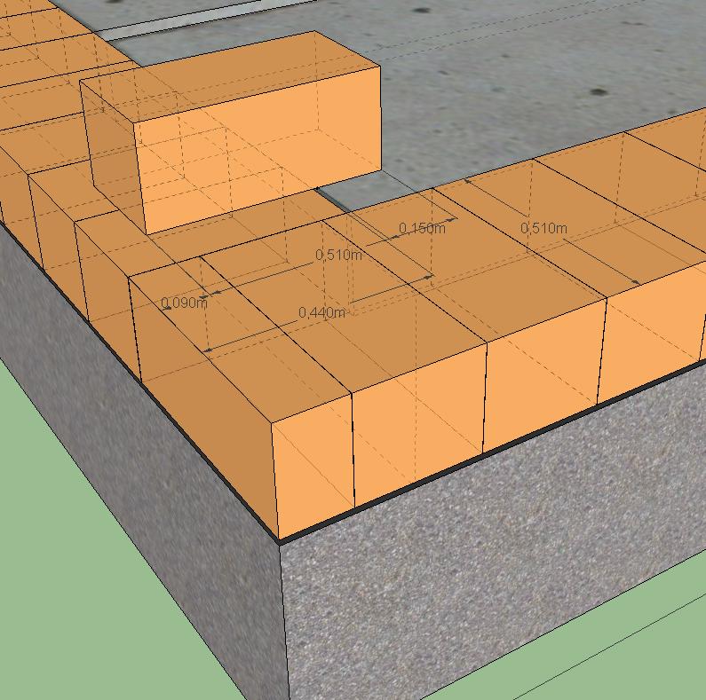 Схема кладки стены из кирпича