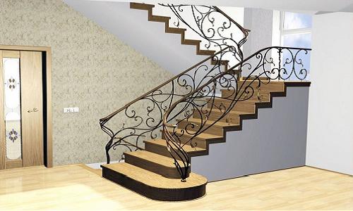 Лестница входная своими руками
