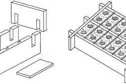 Формы для изготовления шлакоблоков