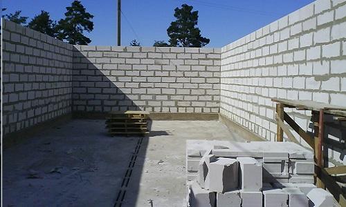 Строительство из шлакоблоков