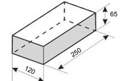 Типовые размеры строительного кирпича