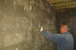 Армирование стены из пеноблока