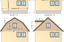 Расчет площадей рядового сайдинга