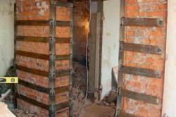 Восстановление кирпичной кладки наружных стен
