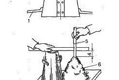 Схема определения подвижности бетона