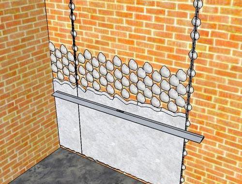 Как выровнять кирпичную стену цементным раствором добавки в сухую смесь бетонную