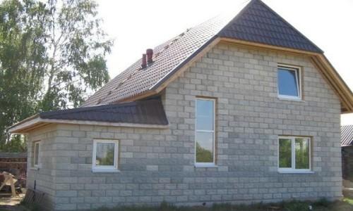 Дом из шлакоблока своими руками фото 434