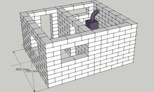 Как построить баню своими руками не из дерева 608
