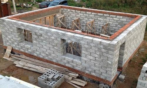 Дом из блоков своими руками пошаговая инструкция с фото