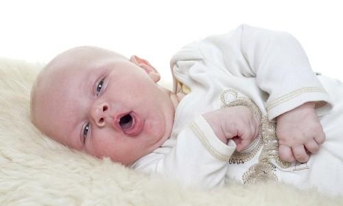 Кашель у младенца