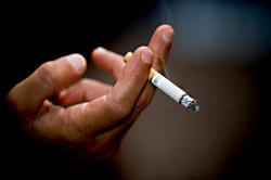 Курение - одна из причин бронхита