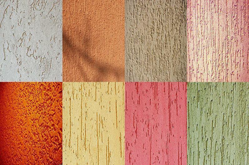 Фасадные краски по штукатурке